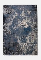 Fotakis - Distressed cambridge rug - blue