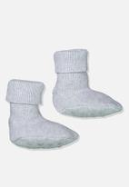 Cotton On - Baby knitted bootie - white