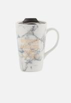 Typo - Nomad travel mug - white