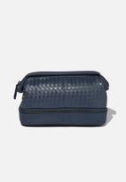 Typo - Debonair wash bag - navy