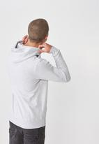 Cotton On - Fleece pullover hoodie - grey