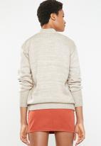 Superbalist - Slouchy pocket detail cardigan - beige