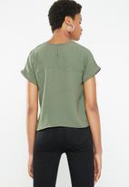 Superbalist - Woven tee - khaki green
