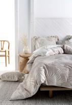 Linen House - Canyon duvet cover set - stone
