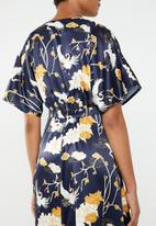 Superbalist - Button detail dress - navy