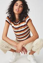 Cotton On - Baby tee - orange