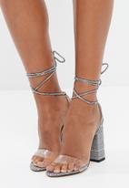 Public Desire - Foxy heel - grey