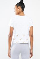 Nike - Nike metallic tee - white