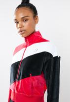 Converse - Converse colour blocked track jacket - multi