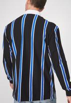 Cotton On - Stripe rugby polo - multi