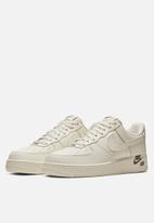 Nike - Air Force 1 '07 LTHR - sail/sail-black