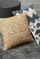 Sixth Floor - Kemala cushion cover - mustard