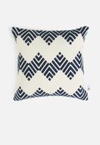 Sixth Floor - Taman cushion cover - blue