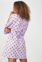 Cotton On - Kimono gown - purple