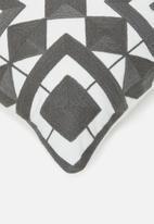 Sixth Floor - Yara cushion cover - grey