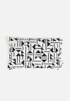 Sixth Floor - Neave cushion cover - black & white