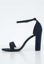 Superbalist - Jade barely there heel - navy