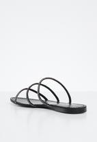 Superbalist - Dainty diamante sandal - black