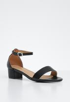 STYLE REPUBLIC - Ankle strappy heels - black