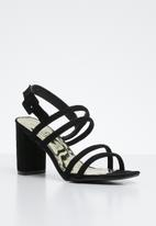 STYLE REPUBLIC - Slingback heels - black