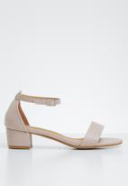 STYLE REPUBLIC - Strappy sandal heels - pink