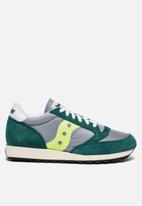 Saucony Originals - Jazz Vintage - green/grey/neon