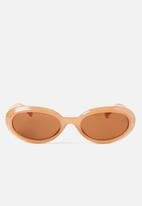 Cotton On - Brooklyn short frame oval - orange