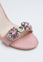 Miss Black - Dumura heel - pink