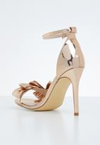 Miss Black - Olga heel - rose gold