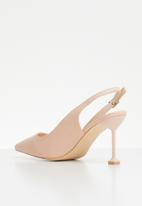 Miss Black - Elba heel - pink