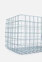 Sixth Floor - Finch wire basket - sky