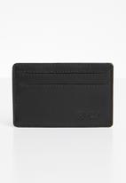 RVCA - Clean card wallet - black