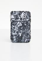 RVCA - Anp magic wallet - black & white