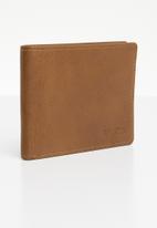 RVCA - Crest bifold wallet - tan
