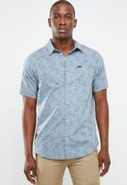 RVCA - Shimmy short sleeve shirt - blue