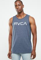 RVCA - Big tank top - blue