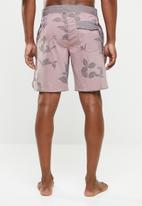 RVCA - Toro swim trunks - pink