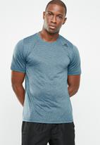 adidas Performance - FL TEC crew short sleeve tee - blue
