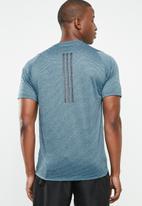 adidas Performance - FL TEC crew short sleeve tee - blue