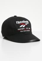 Reebok Classic - CL printemp ete cap - black