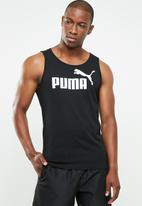 PUMA - Ess cotton tank top - black