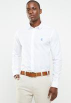 Pringle of Scotland - Nial styled shirt - white