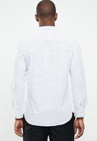 STYLE REPUBLIC - Domino long sleeve shirt - white