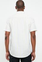 STYLE REPUBLIC - College striped short sleeve shirt - multi