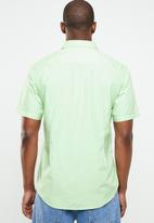 STYLE REPUBLIC - Essential slim fit short sleeve shirt - green