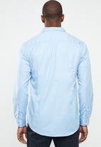 STYLE REPUBLIC - Essential slim fit long sleeve shirt - blue