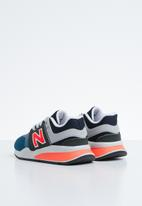 New Balance  - 247 V2 kids sneaker - blue