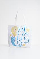 POP CANDY - Mermaid printed bag - multi