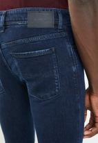 Diesel  - Sleenker slim-fit skinny jeans - blue