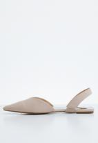 STYLE REPUBLIC - Slingback metallic pumps - pink